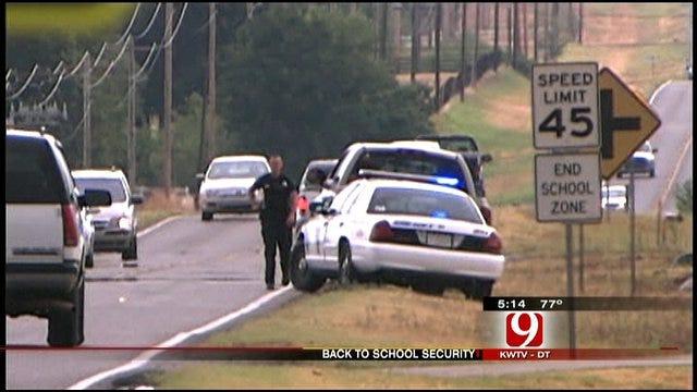 Deputies Enforce Cleveland County School Zones