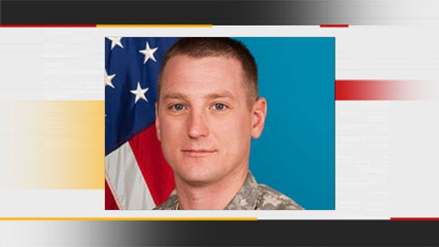 Hundreds Ignore Rain, Show Support For Edmond Soldier Killed In Afghanistan