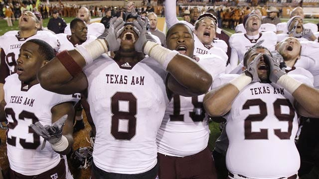 Reports: Texas A&M Contemplating Move To SEC