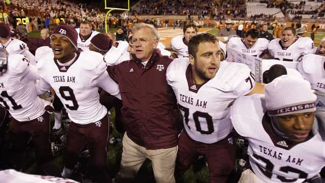 Big 12 Schools Rallying For Texas A&M To Stay
