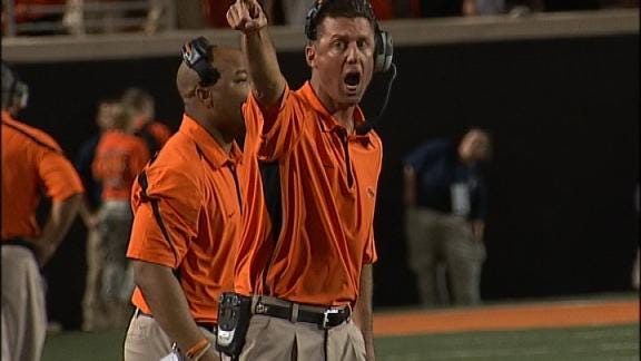 Contractor Claims OSU's Gundy Fired Him For Wearing OU Shirt