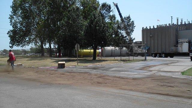 Diesel Fuel Spill Shuts Down Southwest OKC Street