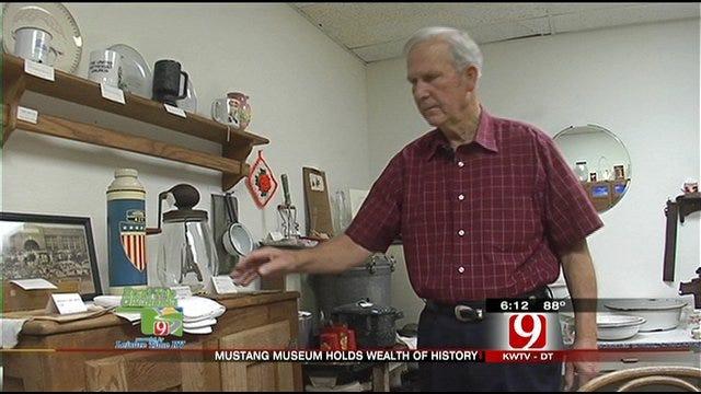 Mustang Museum Preserves Town's Heritage
