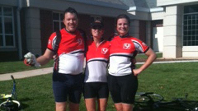 News 9 Joins 'Spin Your Wheels' Bicycle Tour For A Good Cause