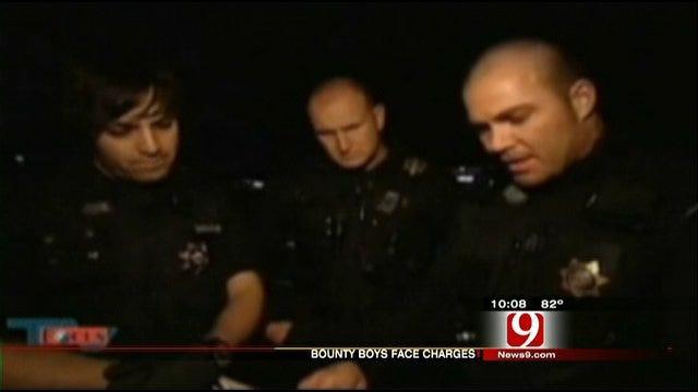 'Bounty Boys' Face Felony Charges For Terrorizing Innocent Family
