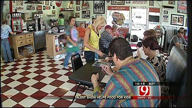 Oklahomans Have Talent And Help Feed Hungry Kids