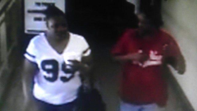 Surveillance Camera Captures Video Of OKC Auto Burglary Suspects