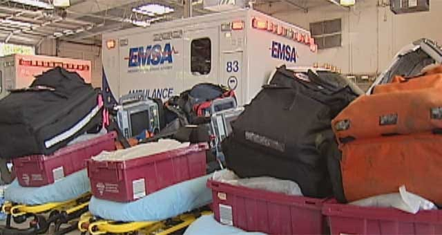 EMSA Staying Busy Responding To Heat Related Calls In OKC