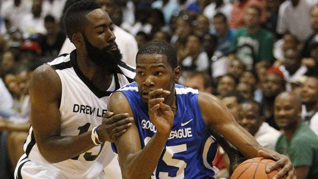Durant, Harden Face Off In Exhibition Showcase