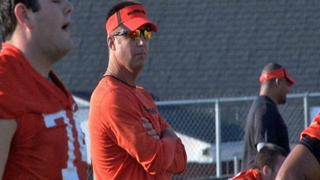OSU Finishes Fall Camp With Scrimmage