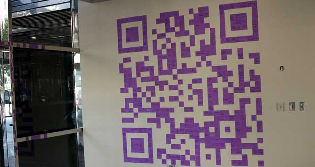 Giant QR Code Installed In Downtown OKC