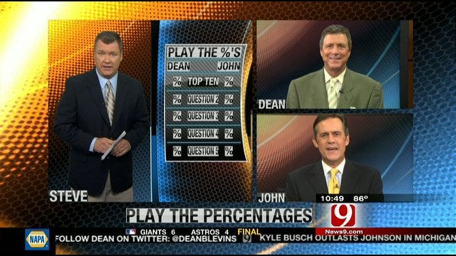 Play the Percentages: August 21, 2011