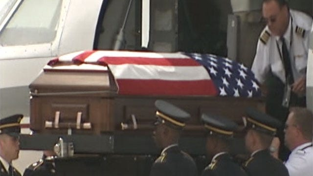 Body Of Moore Soldier Killed In Afghanistan Returns To Oklahoma