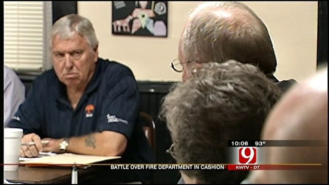 Cashion Fire Department Decision Still In Limbo