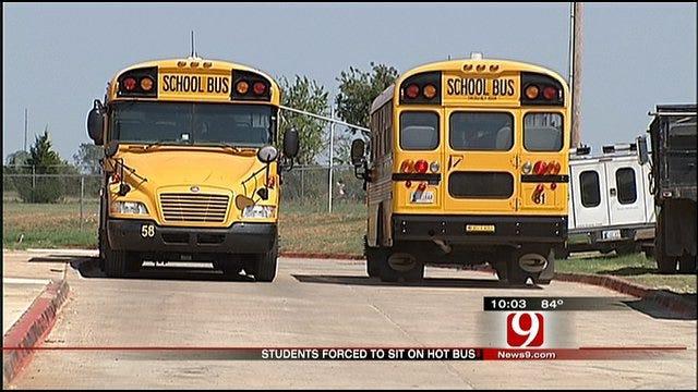 Edmond Children Swelter In Hot Bus In 108-Degree Heat