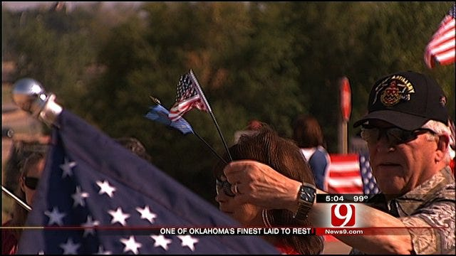 Edmond Soldier Killed In Afghanistan Laid To Rest