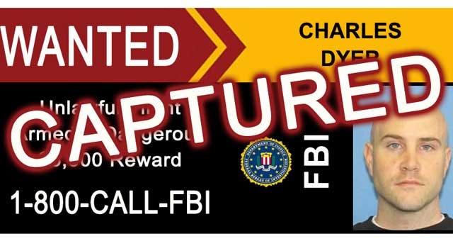 FBI Nabs Oklahoma Fugitive Charles Dyer In Texas