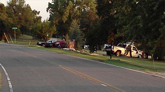 OKC Police Work Fatal Accident On Southeast Side