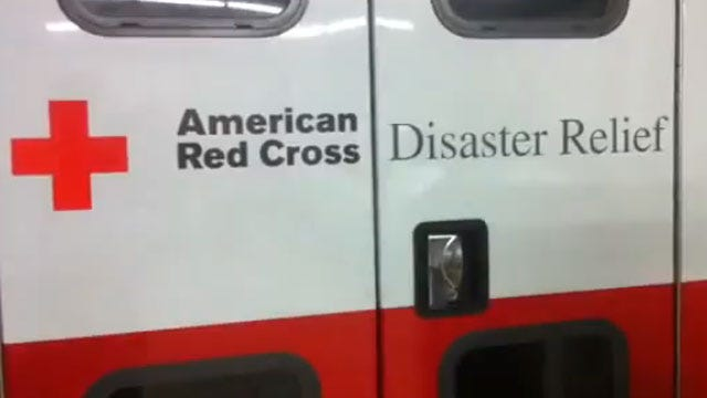 Another Red Cross Team Leaves Oklahoma For East Coast