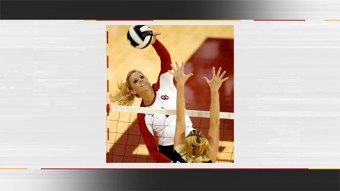 OU Volleyball Sweeps ORU In Three Sets