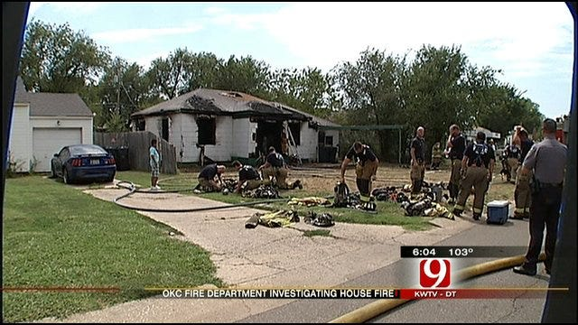 South Oklahoma City Home Destroyed By Fire