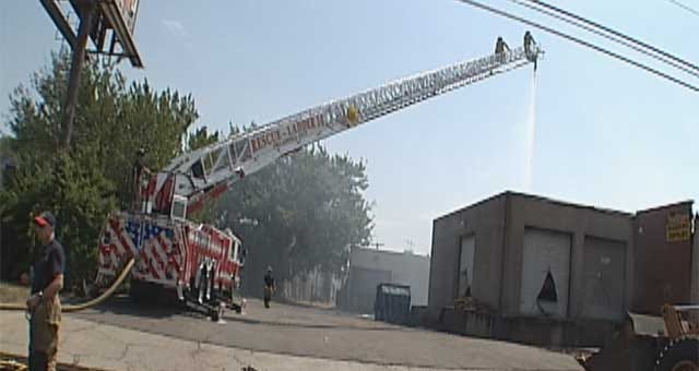 Business Owners Watch Livelihoods Smolder At NW OKC Fire