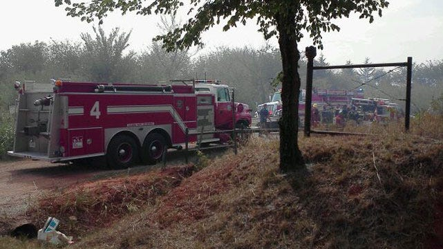 Firefighters Able To Quickly Extinguish OKC Grassfire