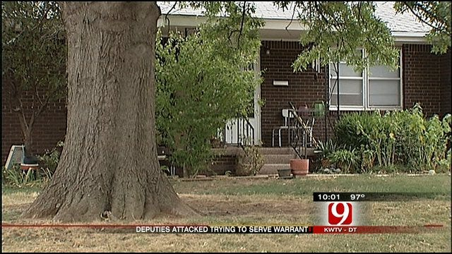 Deputies Attacked When Trying To Arrest OKC Man