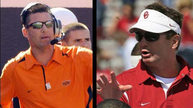 Gundy And Stoops Have 'Good Feelings' Entering Game One
