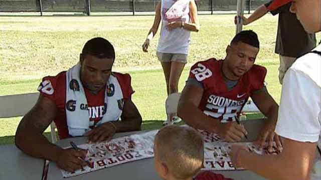 Meet The Sooners Moved To The Shade