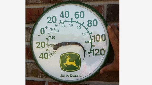 Mercury Could Hit 112 Degrees Wednesday In OKC