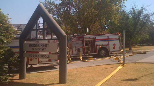 MWC School Building Sustains Smoke Damage After Fire