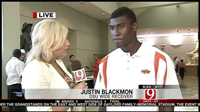 One-on-One With Justin Blackmon