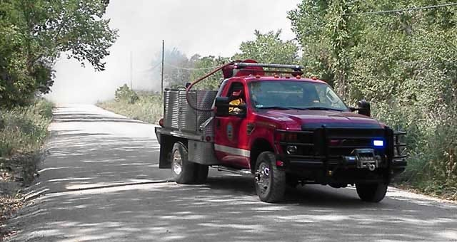 Firefighters Have Wildfire In Tecumseh Under Control