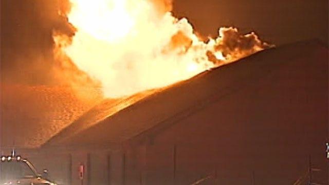 Northeast OKC Wildfire Destroys Church