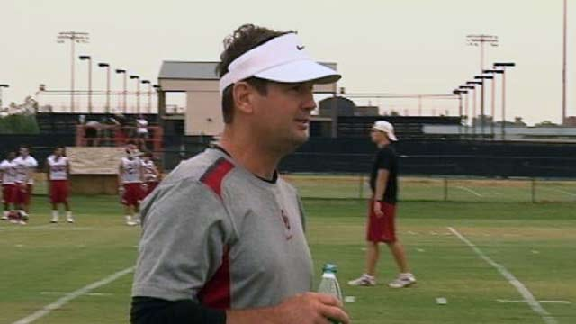 OU Sooners Hold First Practice Of The Season