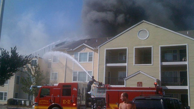 Fire Routs Residents From Norman Apartment Complex