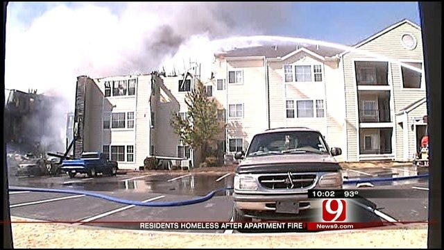Mulch Bed To Blame For Norman Apartment Blaze