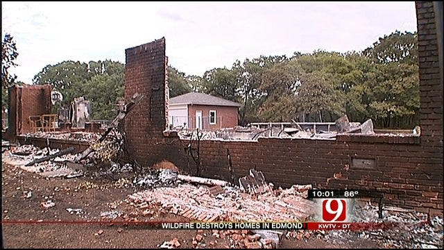 Edmond Recovers From Weekend Wildfires