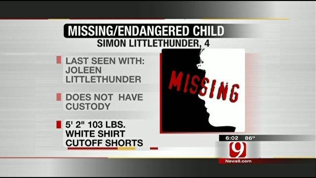 McIntosh County Sheriff's Office Says Missing Boy Found Safe