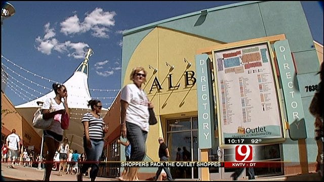 Opening Weekend Brought In Big Business For Outlet Shoppes At OKC