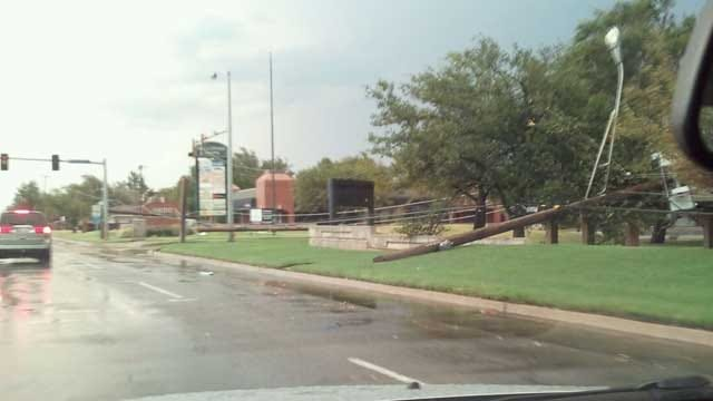 Storm Causes Severe Damage In Oklahoma Communities