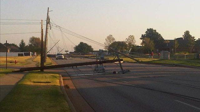 Storms Knock Out Power To OKC Elementary School