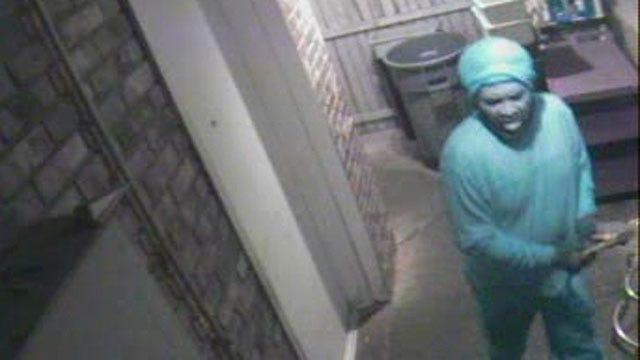 Big Truck Tacos Burglar Caught On Camera