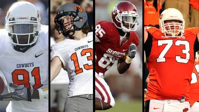 Three Cowboys And A Sooner Named FWAA All-Americans