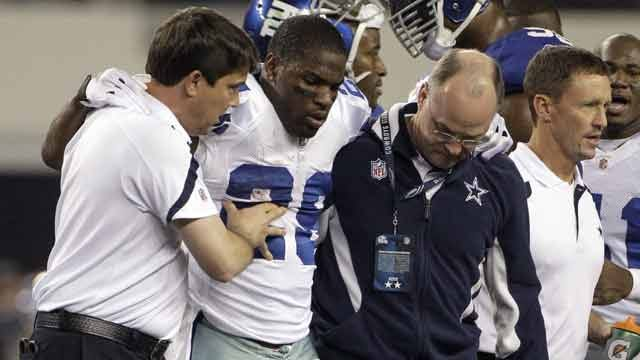 Dallas' DeMarco Murray Sidelined With Fractured Ankle