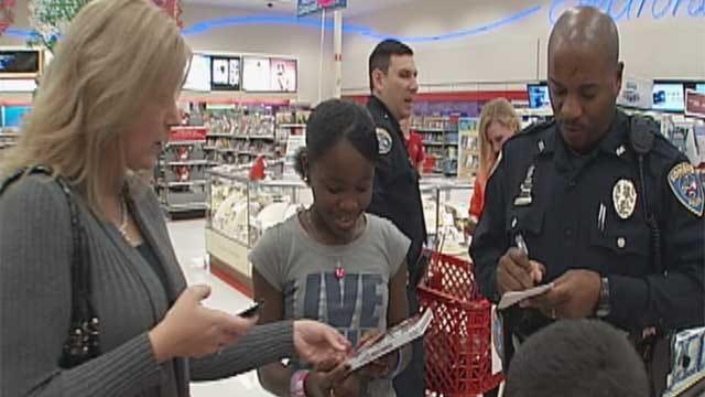 Needy Oklahoma Children 'Shop With A Cop' In Edmond