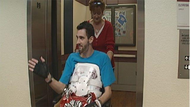 OKC Good Samaritan Injured, But Spirit Not Broken