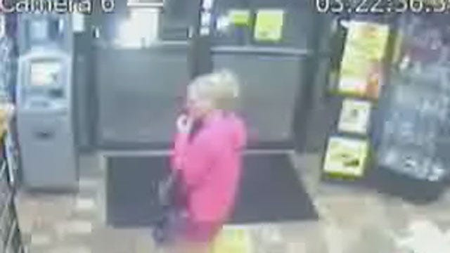 Suspects Rob Woman At Gunpoint At OKC Convenience Store
