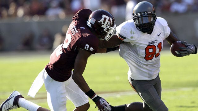 Justin Blackmon Named AP First-Team All-American
